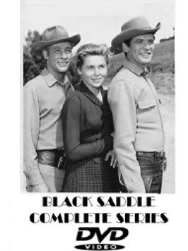 BLACK SADDLE COMPLETE SERIES 10 DVD SET 44 EPISODES