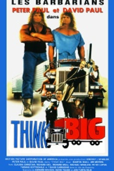 Think Big 1989 DVD and Double Trouble 1992 DVD