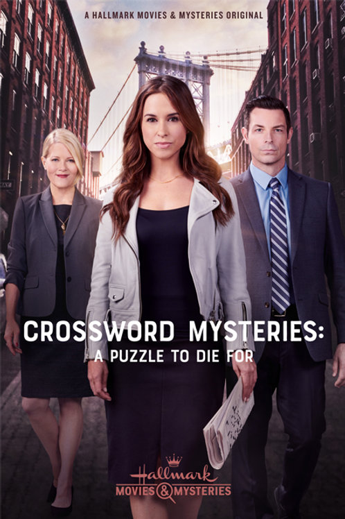 Crossword Mysteries: A Puzzle To Die For DVD