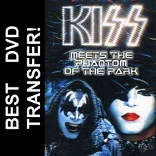 KISS Meets The Phantom Of The Park DVD 1978 Gene Simmons Paul Stanley