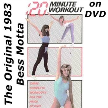 20 Minute Workout DVD 1983 Bess Motta