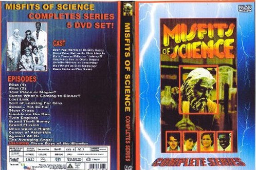 Misfits of Science Complete Series on 5 DVD's