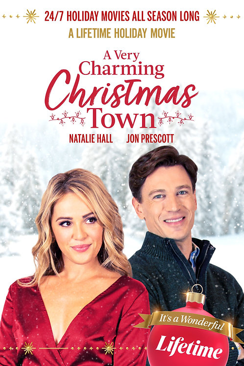 A Very Charming Christmas Town DVD