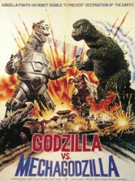 Godzilla vs Mechagodzilla (1974) (English Version) DVD