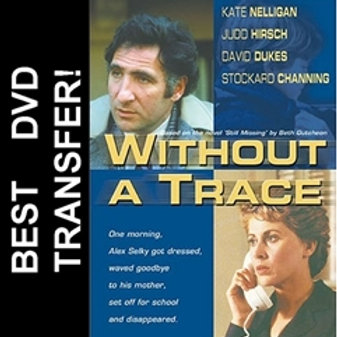 Without A Trace DVD 1983 Kate Nelligan Judd Hirsch