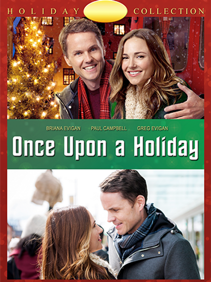 Once Upon a Holiday (2015) DVD