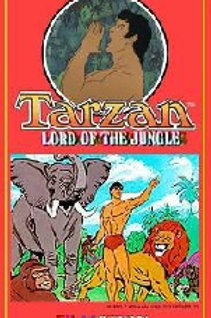 Tarzan Lord of the Jungle Complete Series on 6 DVD's