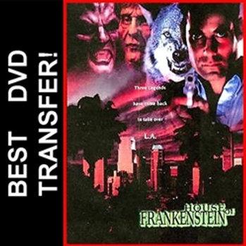House Of Frankenstein DVD 1997