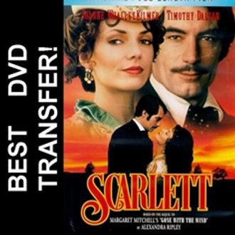 Scarlett DVD 1994 Timothy Dalton Joanne Whalley Kilmer