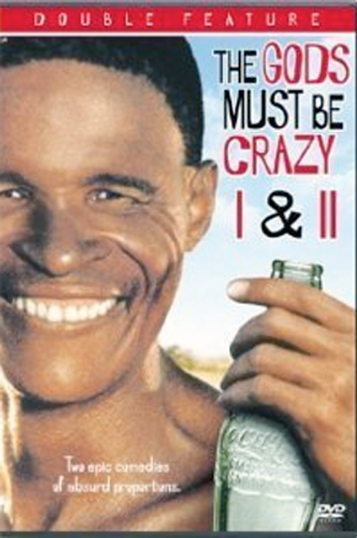 The Gods Must Be Crazy 1 and 2 DVD