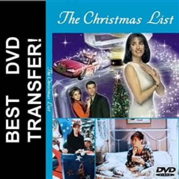 The Christmas List DVD 1997 with Mimi Rogers