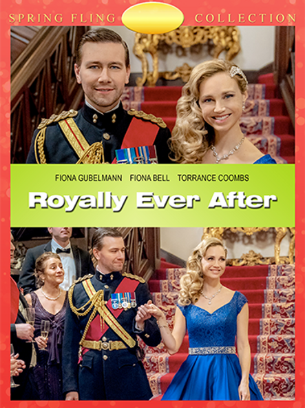 Royally Ever After (2018) DVD