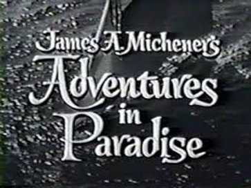 Adventures in Paradise (1959-1962 TV series) DVD