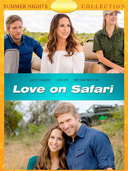 Love on Safari (2018) DVD