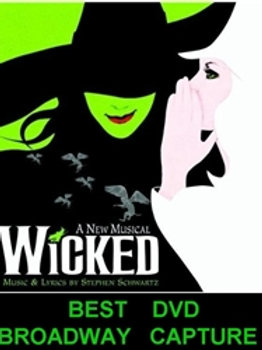 Wicked The Musical DVD Broadway Atlanta 2007 DVD