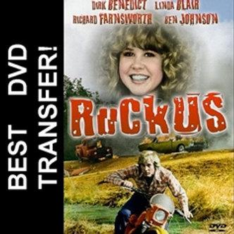 Ruckus DVD 1980 Linda Blair Dirk Benedict