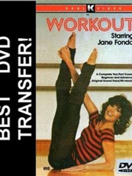 Jane Fonda Workout DVD 1982