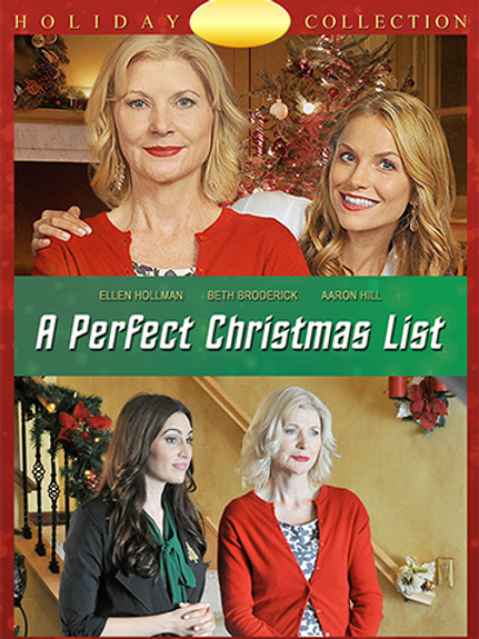 A Perfect Christmas List (2014) DVD