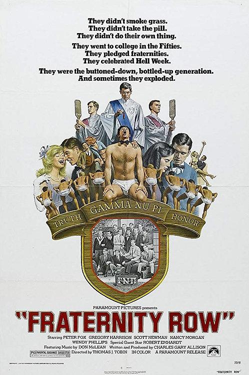 Fraternity Row 1977 DVD