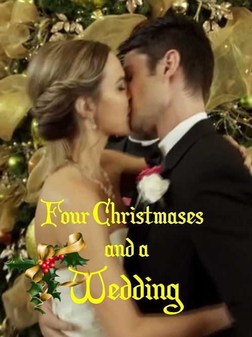 Four Christmases and a Wedding (2017) DVD