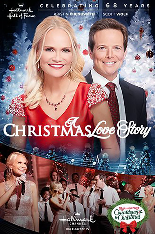 A Christmas Love Story (2019) DVD