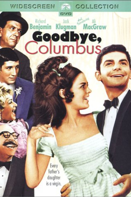 Goodbye Columbus DVD 1969