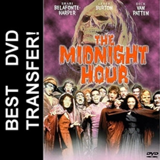 The Midnight Hour DVD 1985 For Sale Halloween ABC TV Movie