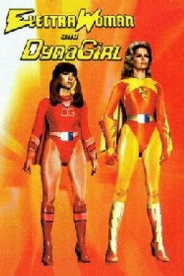 Electra Woman and Dyna Girl Complete Series on 3 DVD's