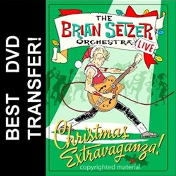 Brian Setzer Orchestra Christmas Extravaganza DVD 2005