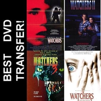 Watchers 1 2 3 4 Reborn DVD 1988 4 Disc Set Corey Haim