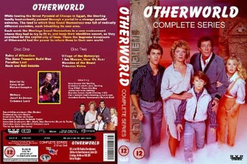 Otherworld Complete Series on 4 DVD's