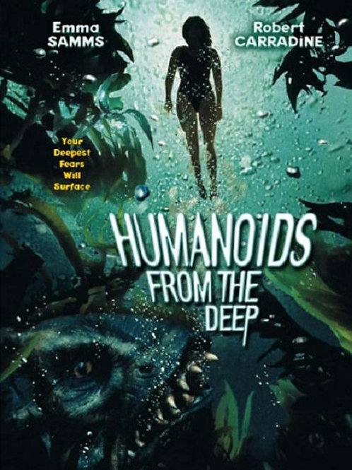 Humanoids From The Deep 1996 DVD
