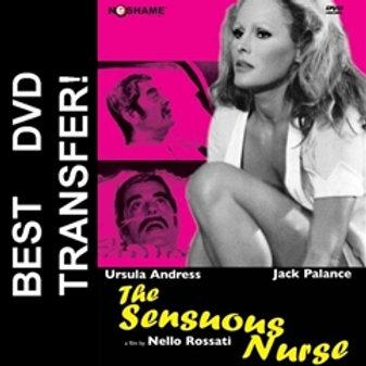 The Sensuous Nurse DVD 1973 Ursula Andress Jack Palance