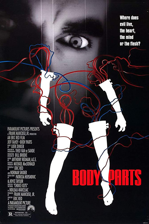 Body Parts 1991 DVD