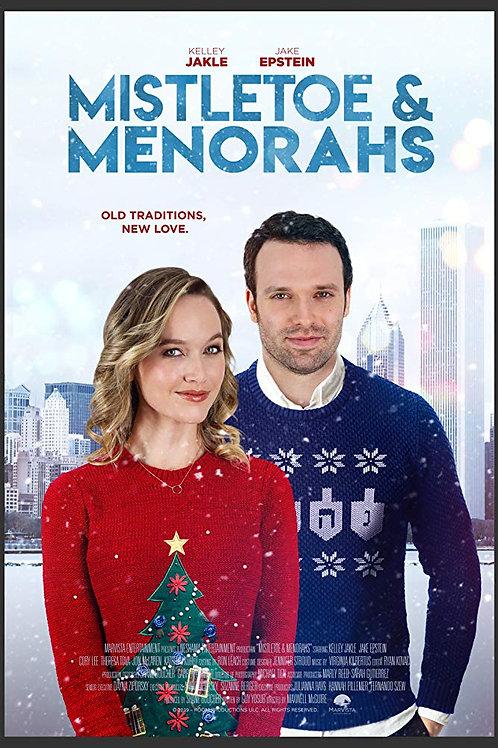 Mistletoe & Menorahs DVD