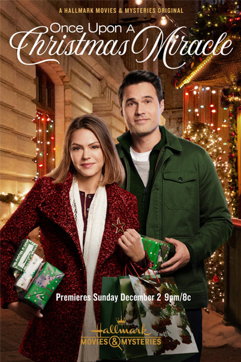 ONCE UPON A CHRISTMAS MIRACLE 2018 DVD
