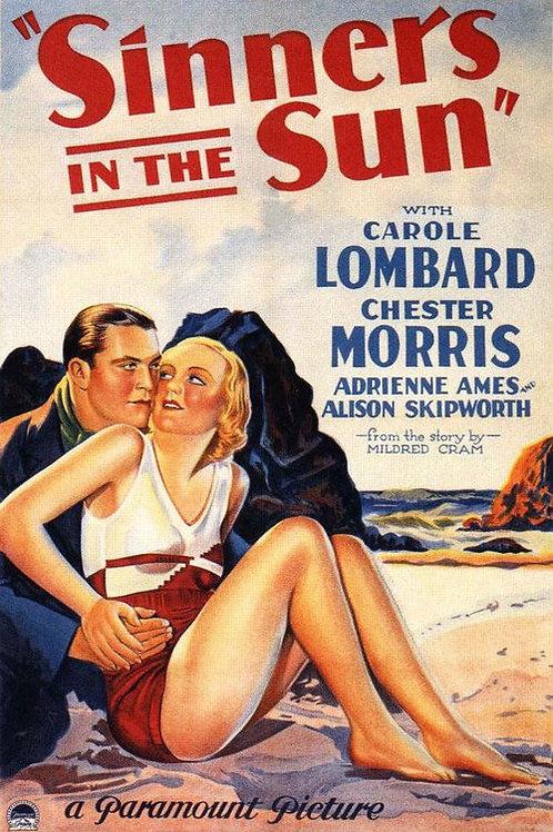 Sinners In The Sun 1932 DVD