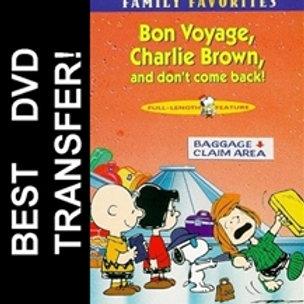 Bon Voyage Charlie Brown DVD 1980