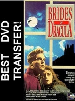 The Brides Of Dracula DVD 1960 Peter Cushing Hammer Horror