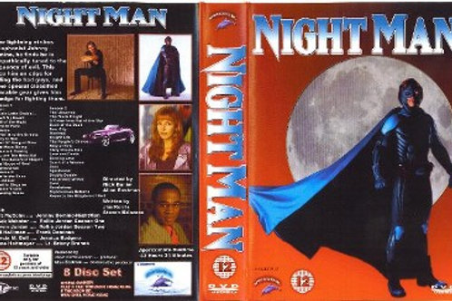 Night Man Complete Series on 8 DVD's
