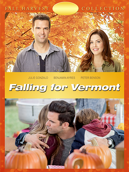 Falling for Vermont (2017) DVD