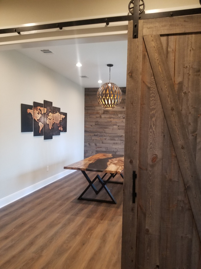 New Construction with Earth-Tone Interiors