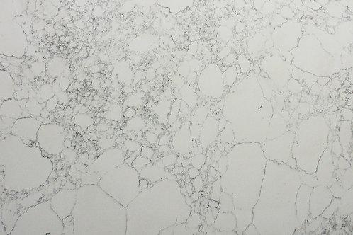 Marble look porcelain tile