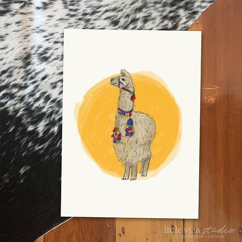 Llama Love - Sunshine