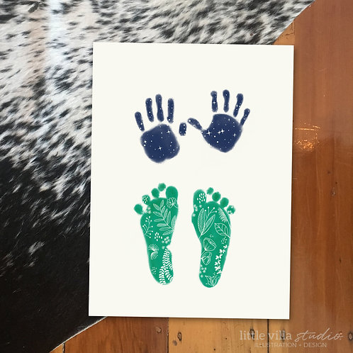 Foot and Hand Prints