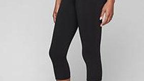 Mid-Calf Compression Pant-Black