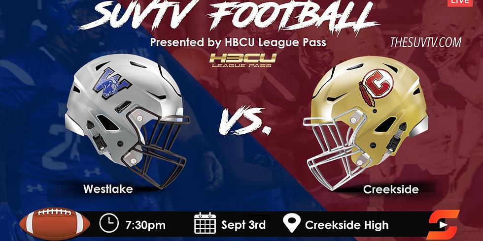 SUVtv Football - Creekside vs. Westlake