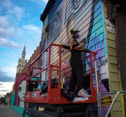 Graffiti Spray Paint Denver CO