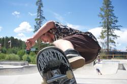 Skate Boarder Winter Park Skate Park