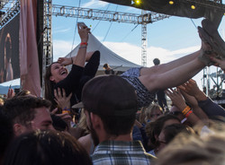 Music Festival Crowed Suffering